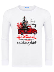 Men's Hallmark Movie Watching Swearshirts -638