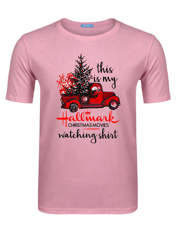 Men's Hallmark Movie Watching T-shirt -638