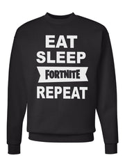 Men's Eat Sleep Fortnit Repeat Sweatshirts -728
