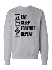 Men's Eat Sleep Fortnite Repeat Sweatshirts -737