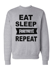 Men's Eat Sleep Fortnit Repeat Sweatshirts -727