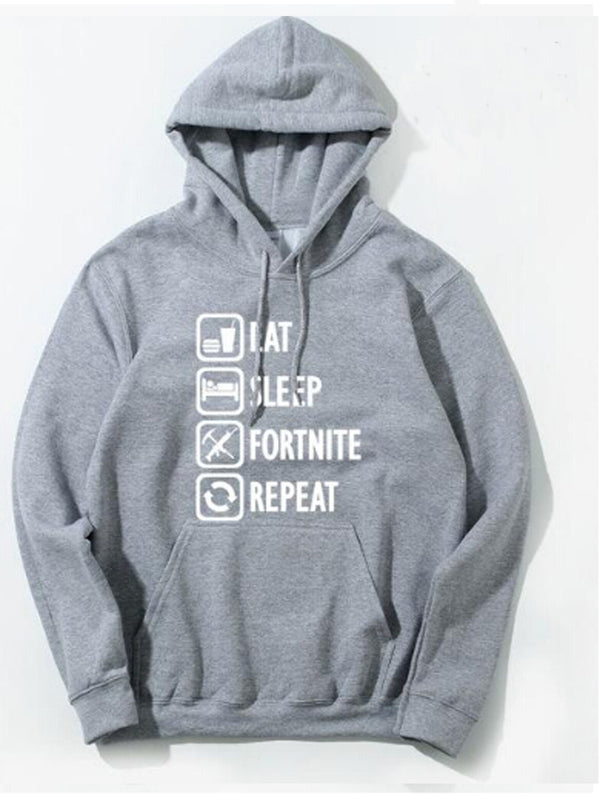 Women Eat Sleep Fortnite Repeat Hoodie
