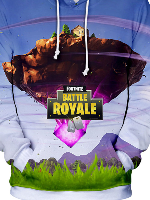3D Fortnite Battle Royale Hoodie