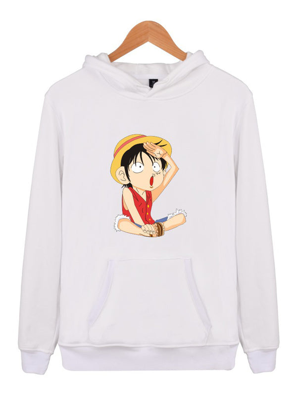 Luffy Cartoon Hoodie