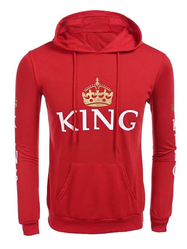 King Queen Couple Hoodie