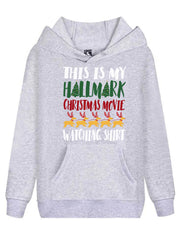 Hallmark Movie Watching Hoodie