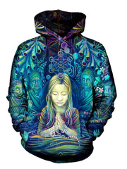 3D Praying Girl Hoodie