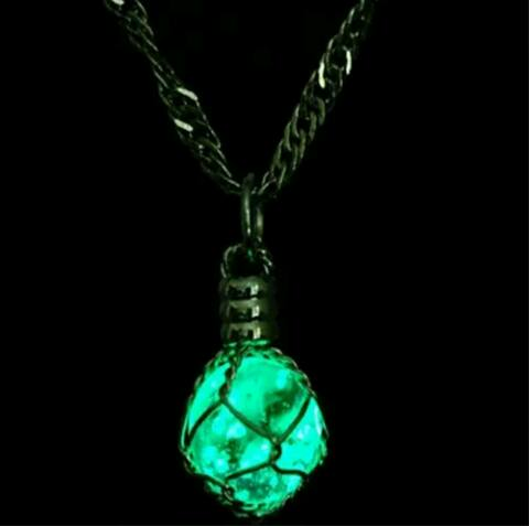 Glowing Magic Light Bulb Necklace