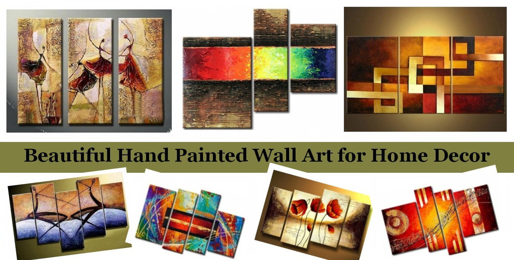 Acrylic Abstract Paintings for Bedroom, Living Room Wall Art Paintings, Modern Canvas Paintings, Buy Paintings Online