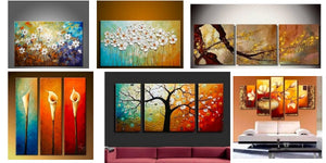 Acrylic Flower Paintings, Abstract Flower Paintings, Beautiful Flower Paintings