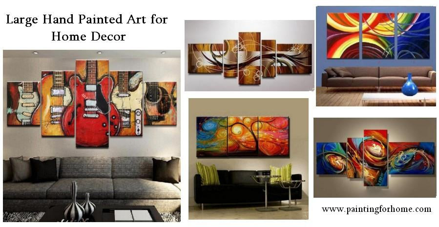 Special Offer of June! 15% Off and Free Shipping for All Large Hand Painted Wall Art