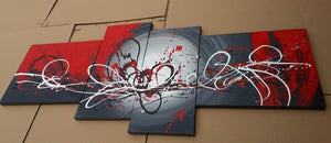 Samples of Extra Large Wall Art for Home, 100% Hand Painted Art, Free Shipping to Worldwide