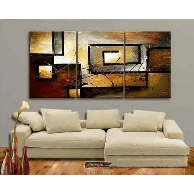 Living Room Canvas Painting