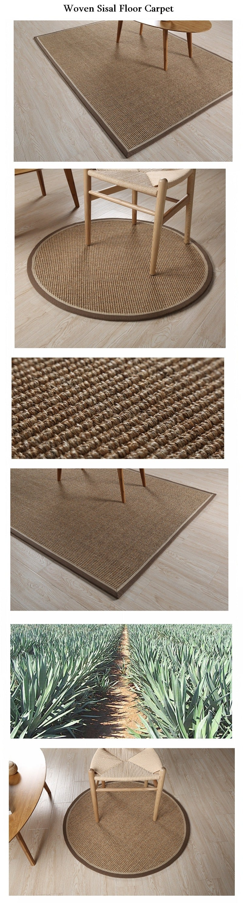 Large Sisal Carpet, Woven Floor Carpet, Floor Carpet and Rugs
