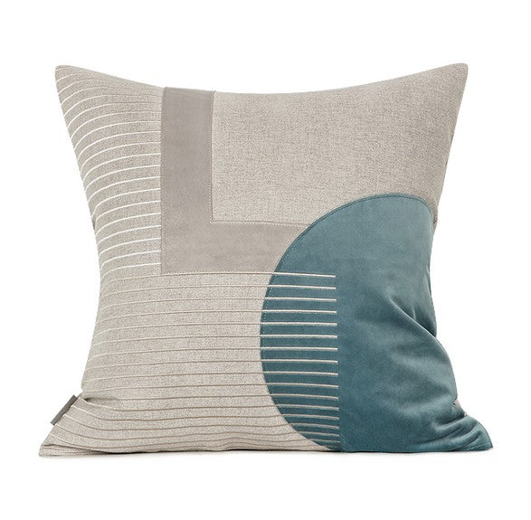 Light Gray Simple Style, Pillow Cover with Insert, Modern Throw Pillow, Sofa Pillows, Bedroom Pillows, Home Decor