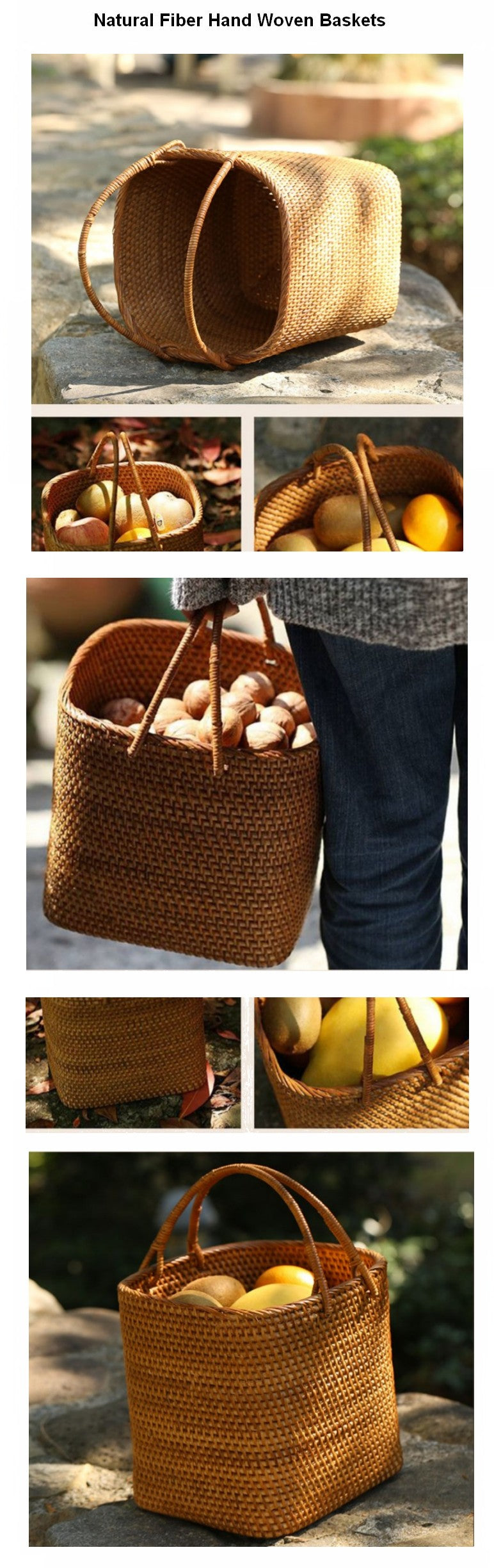 Indonesia Hand Woven Storage Basket