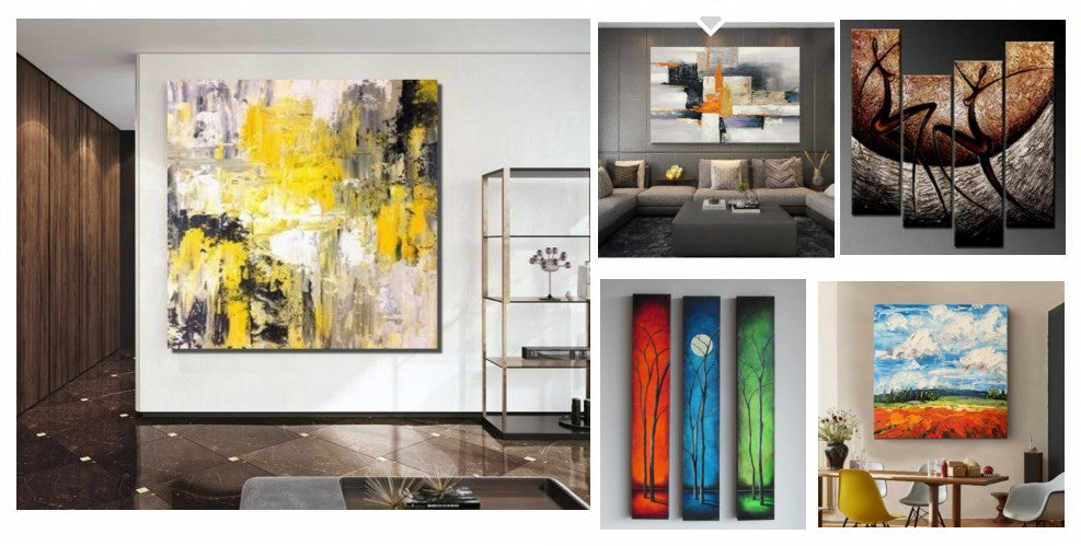 Acrylic Painting on Canvas, Modern Acrylic Paintings, Acrylic Abstract Paintings, Simple Modern Art, Hand Painted Wall Art, Large Painting for Sale, Oversize Canvas Painting, Modern Paintings for Living Room