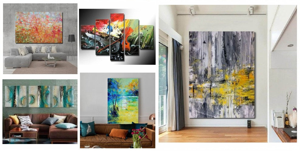 Modern Acrylic Paintings, Acrylic Abstract Paintings, Acrylic Painting on Canvas, Simple Modern Art, Hand Painted Wall Art, Large Painting for Sale, Oversize Canvas Painting, Modern Paintings for Living Room