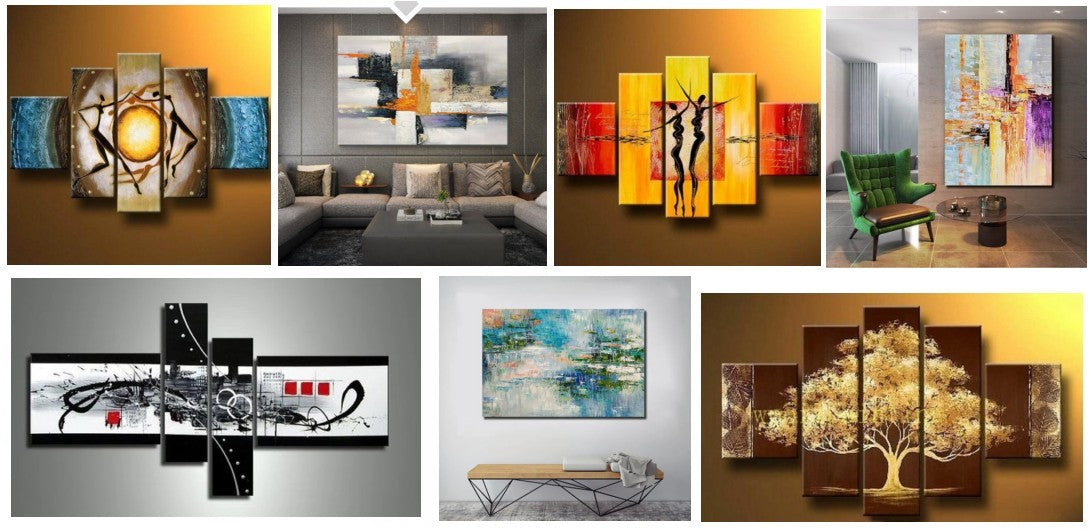 Bedroom Canvas Paintings, Large Painting for Sale, Acrylic Paintings for Bedroom, Modern Paintings for Bedroom, Modern Paintings, Hand Painted Canvas Painting, Bedroom Wall Art Paintings, Buy Paintings Online