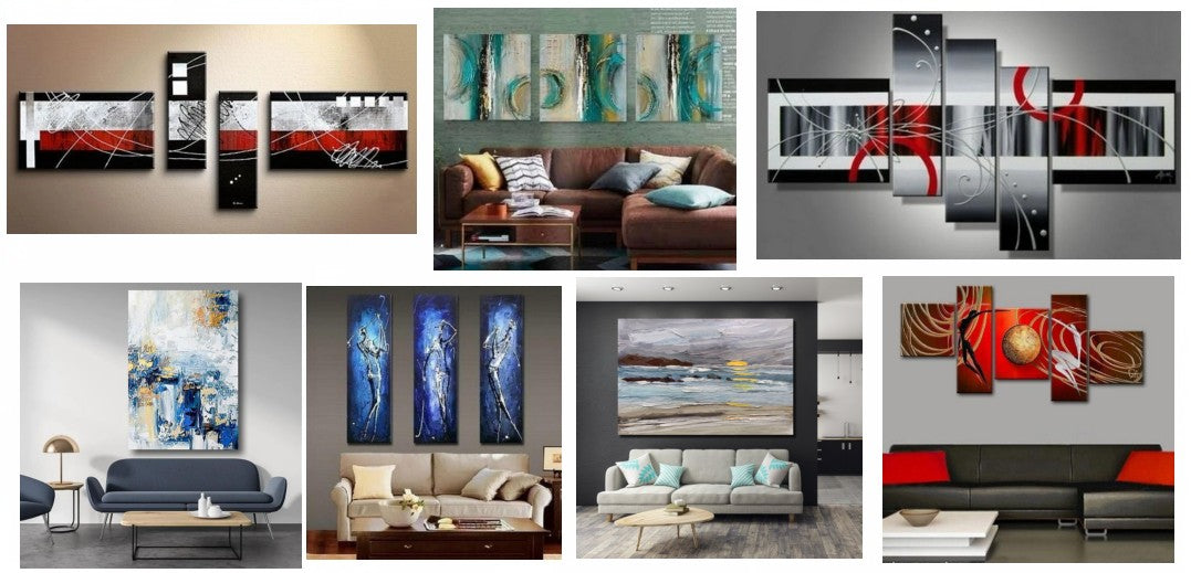 Large Paintings for Living Room, Modern Large Paintings, Canvas Large Paintings, Abstract Large Paintings, Contemporary Large Paintings, Acrylic Paintings for Bedroom, Buy Wall Art Online