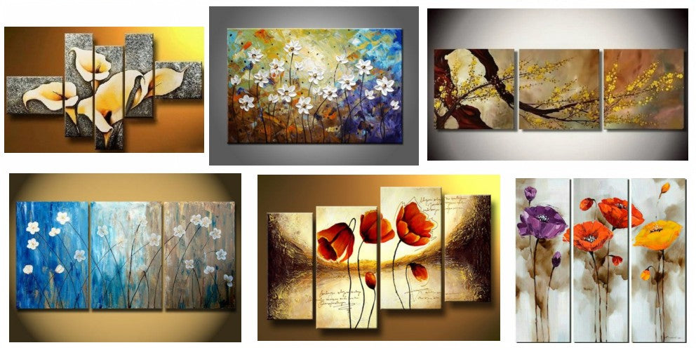 Abstract Flower Paintings, Acrylic Paintings for Living Room, Flower Paintings, Flower Painting Ideas, Bedroom Wall Art Paintings, Acylic Flower Paintings, Canvas Flower Paintingr