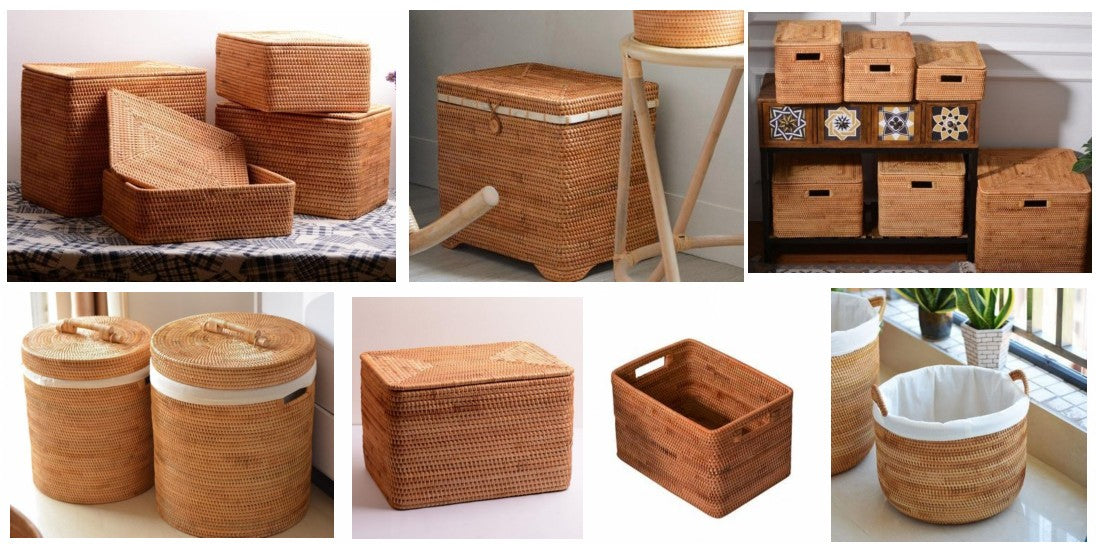 Storage basket for clothes, rectangular storage basket for clothes, large storage baskets for clothes, storage basket for closet, storage basket for bedroom, storage ideas for clothes