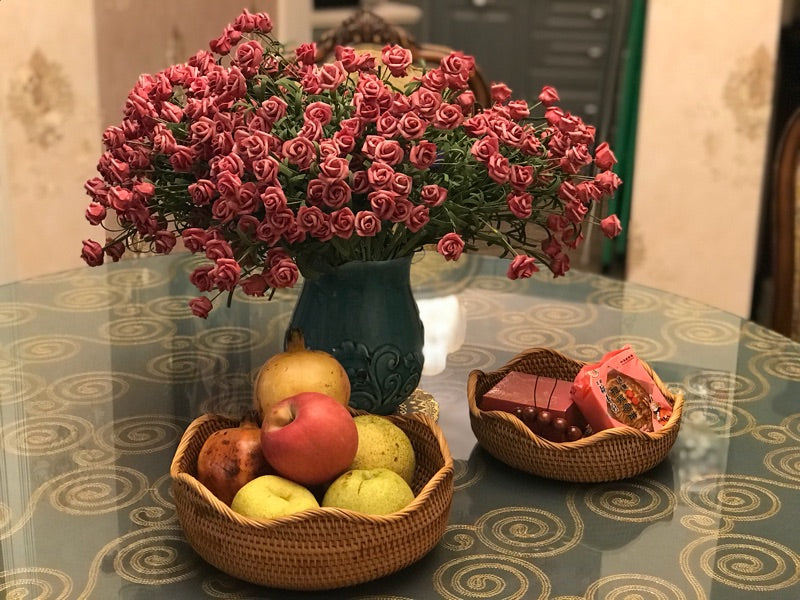 Handwoven Basket, storage baskets, fruit baskets