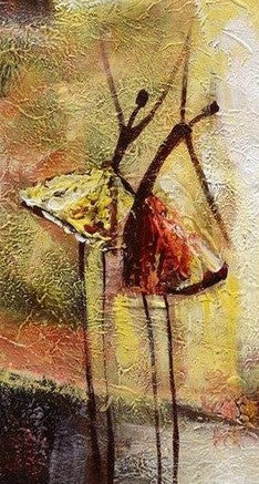 Abstract Art, Contemporary Wall Art, Modern Art, Ballet Dancer Painting, Art for Sale, 100% Hand Painted Art - Paintingforhome