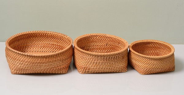 Fruit Baket, Handmade Storage Basket, Woven Basket, Rustic Basket, Home Decor