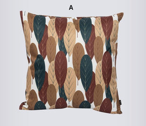 Tree Patern Cotton and linen Pillow Cover, Decorative Throw Pillow, Sofa Pillows