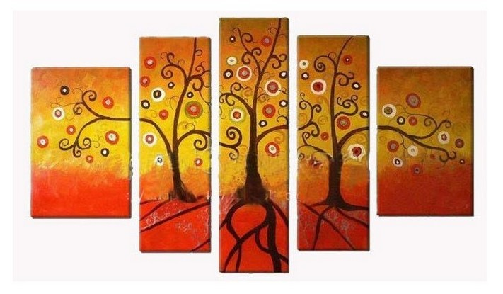 Tree of Life Painting, Acrylic Art, Abstract Painting, Canvas Painting, Wall Art, Large Abstract Art, Acrylic Art, Bedroom Wall Art-Paintingforhome