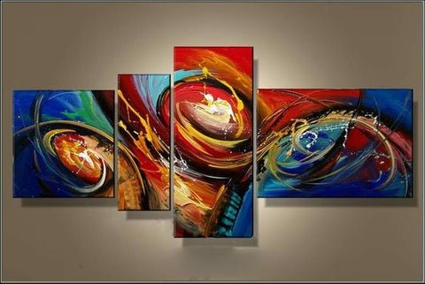 Contemporary Art, Abstract Artwork, Extra Large Painting, 72 inch Wall Art, Modern Art on Canvas-Paintingforhome