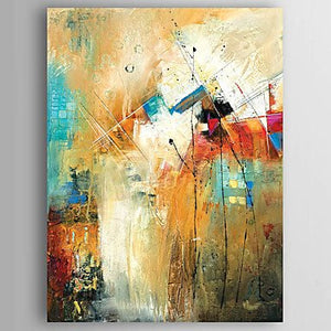 Kitchen Wall Art, Canvas Painting, Heavy Texture Painting, Abstract Wall Art, Canvas Wall Art-Paintingforhome