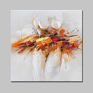 Modern Painting, Abstract Painting, Canvas Artwork, Oil Painting, Canvas Art, Ready to Hang-Paintingforhome
