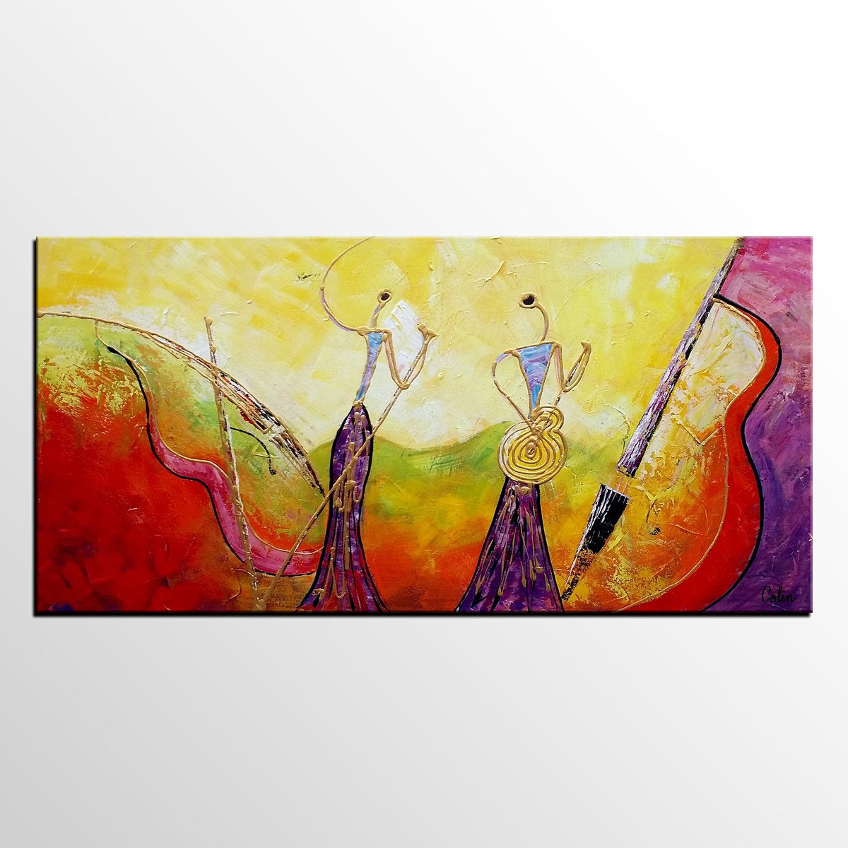 Pop singer music art canvas wall art abstract art painting painting on sale