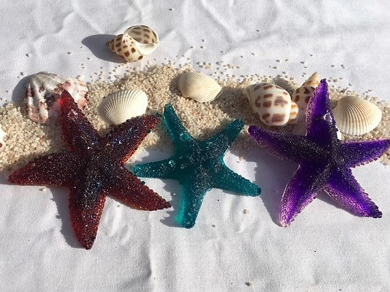 Detailed Starfish Key chains