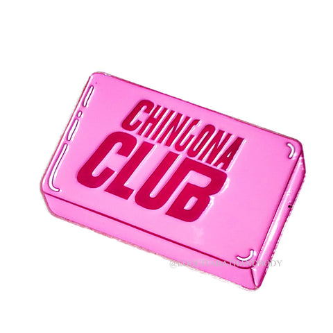 CHINGONA CLUB PIN (MERCH)