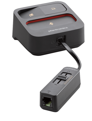 Plantronics MDA105 - Analog switch for Quick Disconnect (QD) headsets (USB & RJ9 & inline Volume Control) - SMC IT Solutions