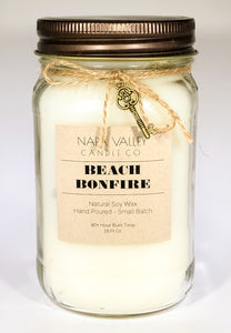 Beach Bonfire 16oz. Candle