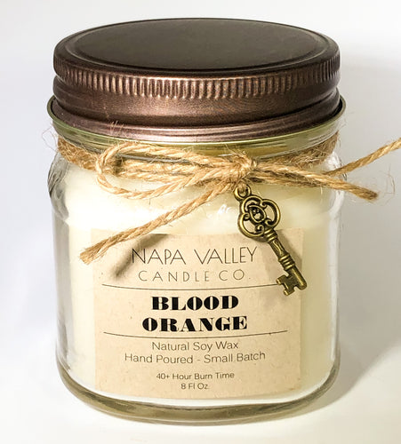 Blood Orange 8oz. Candle