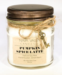 Pumpkin Spice Latte 8oz. Candle