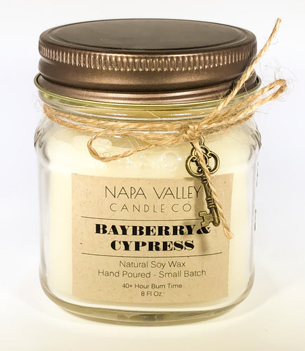 Bayberry & Cypress 8oz. Candle