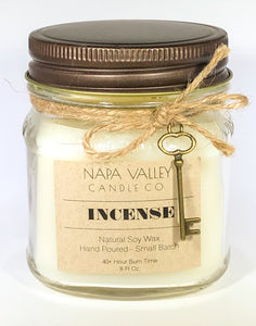Incense 8oz. Candle