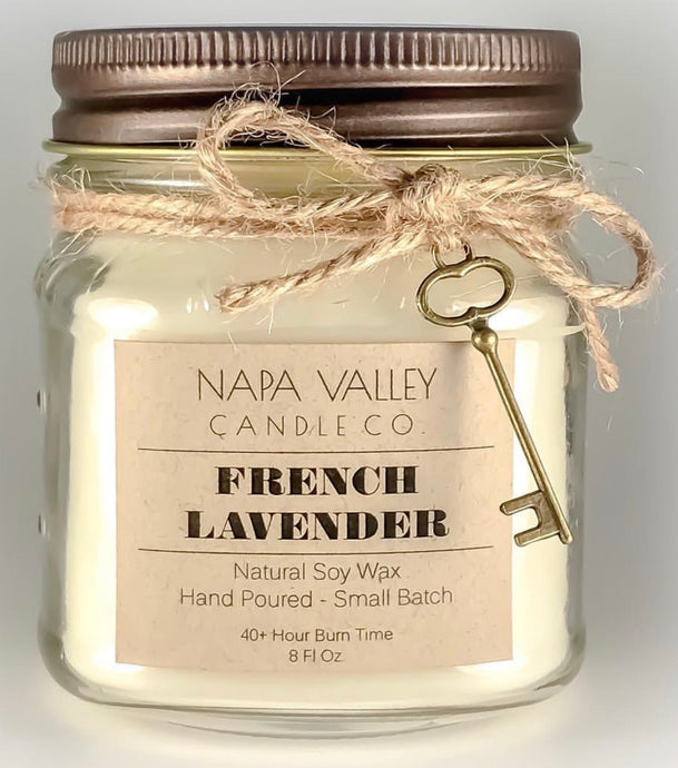 French Lavender 8oz. Candle