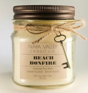Beach Bonfire 8oz. Candle