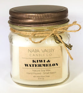 Kiwi & Watermelon 8oz. Candle