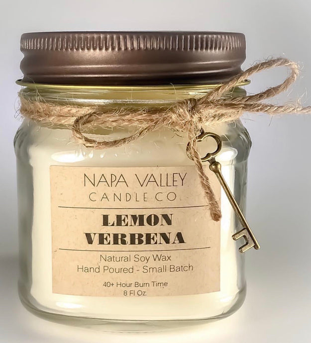 Lemon Verbena 8oz. Candle