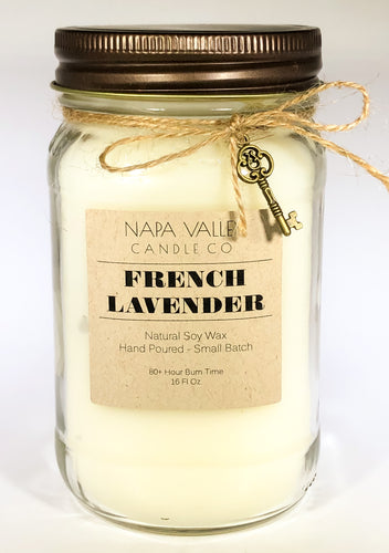 French Lavender 16oz. Candle