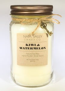 Kiwi & Watermelon 16oz. Candle