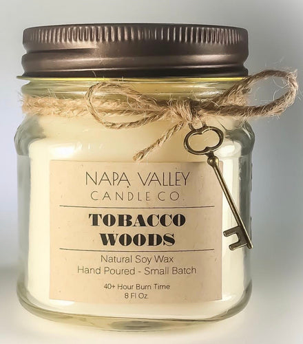 Tobacco Woods 8oz. Candle